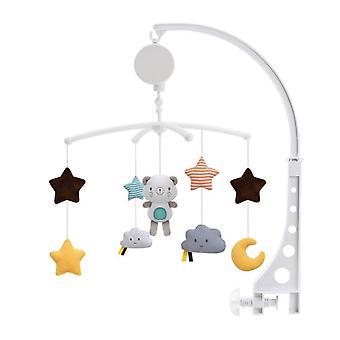Baby musikalsk mobil plysj rattle leker for seng / barneseng / barnevogn etc.