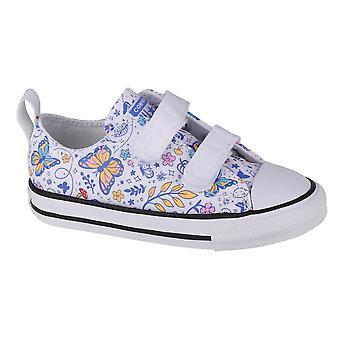 Converse Chuck Taylor All Star 2V OX Kinder 770655C universelle Sommer Säuglinge Schuhe