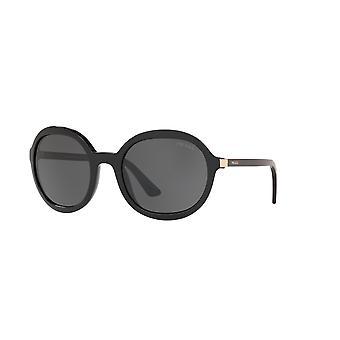 Prada Heritage SPR09V 1AB5S0 Black/Dark Grey Sunglasses