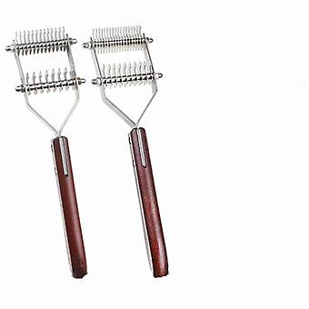 Pet comb for cats and dogs removes knots massage hairdressing tools ps09