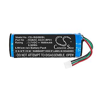 Cameron Sino Isg200Bl Battery Replacement For Intermec Barcode Scanner