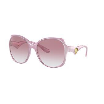 Dolce&Gabbana DG6154 330084 Pearl Pink Pastell/Light Violet Sonnenbrille