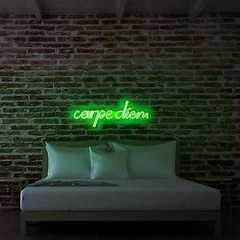 Carpe Diem - Grön grön vägglampa