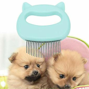 Dog Cat Massage Shell Comb Grooming Hair Removal Pet Cleaning Brush