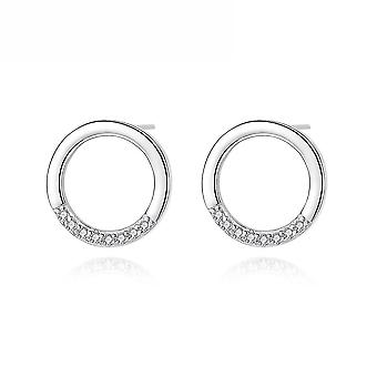Earrings Donut S925 Sterling Silver For Exhibition
