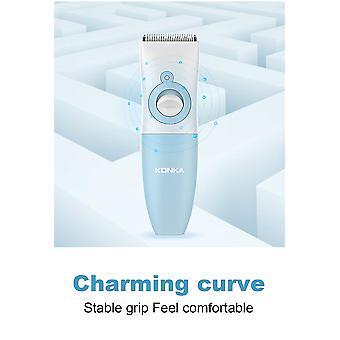 USB μωρό ηλεκτρικά μαλλιά κουρευτική μηχανή λευκό μωρό κουρευτική μηχανή αδιάβροχο R γωνία κεραμικό χάλυβα ξυραφάκι χάλυβα