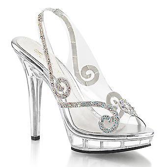Fabulicious Damen's Schuhe LIP-149 Clr/Clr