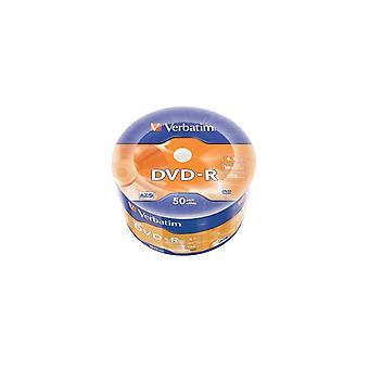 VERBATIM DVD-R4,7 16xTher W 50-Spindel