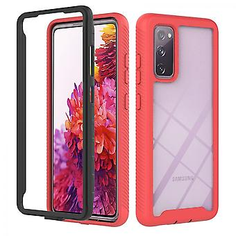 Case For Samsung Galaxy S20 Fe 5g/4g Bumper Cover Full Body Protective Red