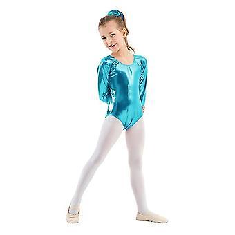 Ballet Leotards For, Balletto metallico a maniche lunghe