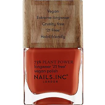 Nails inc Plant Power Nail Polish Collection - What On Earth 14ml