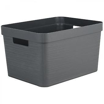 Anthracite Decor Storage Box
