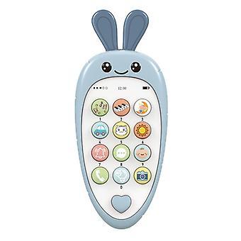 Vauva puhelin kaksikielinen puhelin hampaat musiikki ääni lelu