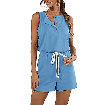 Women Jumpsuit Romper Shorts Playsuit Strappy Summer Hot Pants Overall Beach