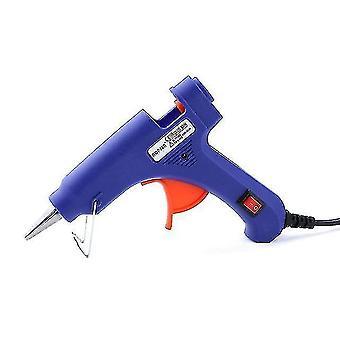 Glue guns hot glue gun sol gun hot melt gun 20w electric heat gun hot melt glue gun diy jewelry accessories +