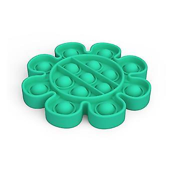 Pop it fidget giocattoli sensoriali sollievo per lo stress e l'ansia (M - Verde)