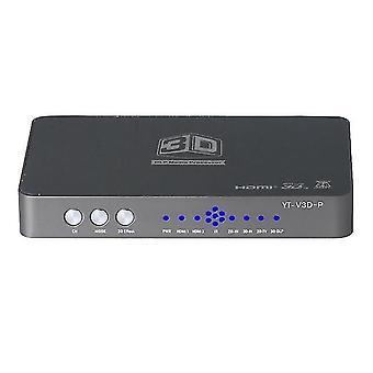 Hdmi converter/ 2d naar 3d / video converter links en rechts op en neer formaat naar 3d geschikte projectie