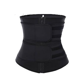 חגורת גוזם מותניים נשים סאונה חליפה זיעה לעטוף מאמן להרזיה Cincher גוף מעצב