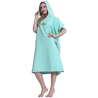 Swim Towels Robe Changing Robes Towel Poncho With Hooded Cloak Quick Dry Microfiber Lightweight Towelling Drying Robes For Swimming Surfing Nd Beach F