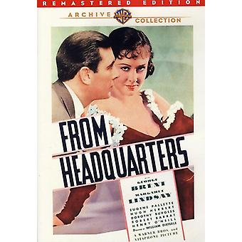 From Headquarters (Remastered) [DVD] USA import