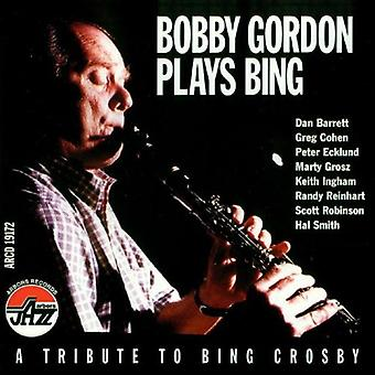 Bobby Gordon - Plays Bing [CD] USA import