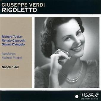 Verdi / Tucker / San Carlo Theatre Orchestra - Rigoletto [CD] USA import