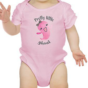 Pretty Little Ghoul carina rosa Baby Body per Baby Girl Halloween