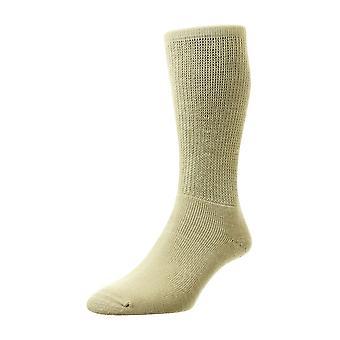 Mens Ladies HJ Hall Wool DIABETIC Smooth Easy Fit Cushion Sock Hj1352