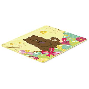 Easter Eggs Chow Chow Chocolate Kitchen or Bath Mat 20x30