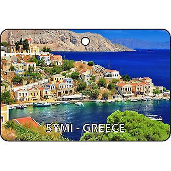 Symi - Greece Car Air Freshener