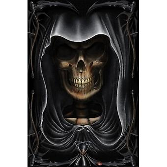 Grim Reaper - Gesicht-Poster-Plakat-Druck