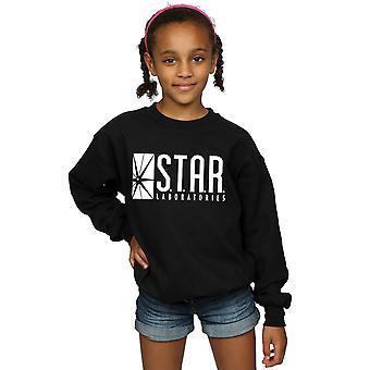 DC-Comics-Mädchen der Blitz Sterne Labs Sweatshirt