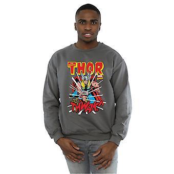 Marvel Men's Thor Thwak Sweatshirt