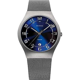 Bering watches mens watch titanium 11937-078
