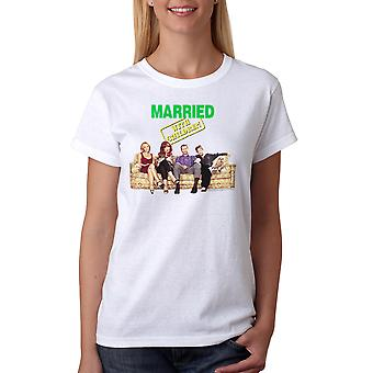 Married With Children Intro Cast Women's White T-shirt