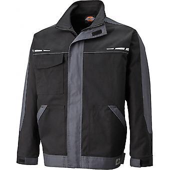 Dickies Mens GDT Cotton Reflective Zip Premium Workwear Jacket