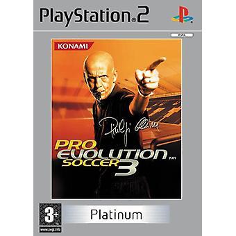Pro Evolution Soccer 3 Platinum (PS2)-fabriken förseglad