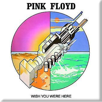 Pink Floyd frigo Magnet souhaite vous étiez ici graphique nouvelle officiel 76 x 76 mm