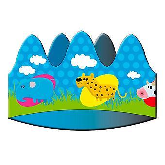 Crown tiara Korona zwierząt zwierząt party urodziny 8 sztuk