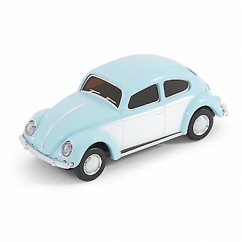 Classic VW Escarabajo tipo 1 coche USB Memory Stick 8Gb - azul cielo