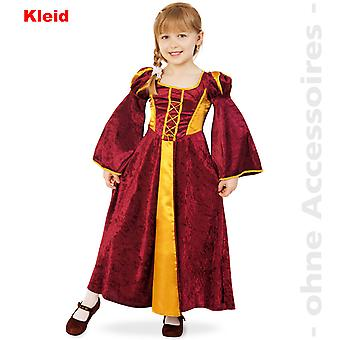 Castle woman costume dress child damsel noblewoman maid child costume