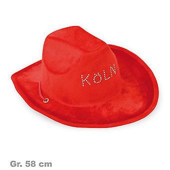 Cowboy hat røde Köln lue