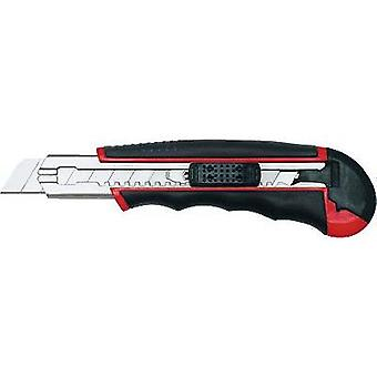 Wedo Professional cutter auto-load 18 mm no. 78418 black/red WEDO 78418