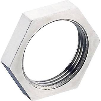 Porca de retenção de Hirschmann 733 877-001 ELST M PG 9 prata