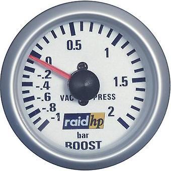 raid hp 660218 Turbo Pressure Gauge -1 - +2bar 12V