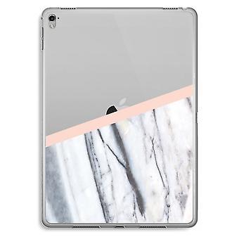 iPad Pro 9,7 tommers gjennomsiktig sak (myk) - et snev av fersken