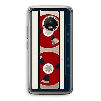Motorola Moto G5 Transparent fodral (Soft) - här är din tejp