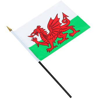TRIXES Wales Waving Hand Flag Welsh