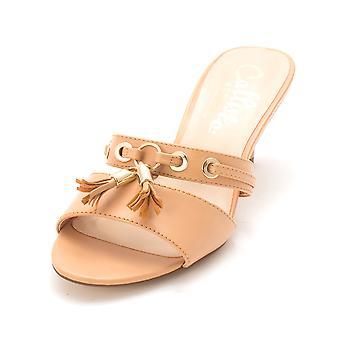 Callisto Womens Jeanet Open Toe Casual Slide Sandals