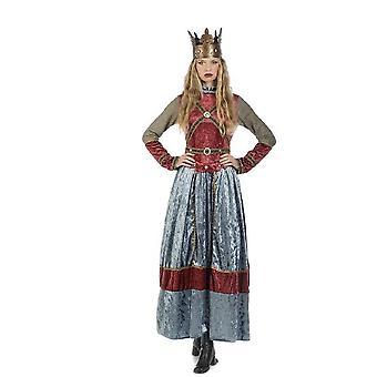 Middeleeuwse koningin Isabell meid hofdame Hofherrin kasteel Lady edelvrouw Lady kostuum
